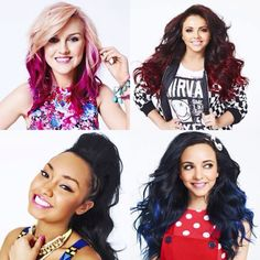 Little Mix - Hey Perrie, can we talk about how much I love your pink hair? Thanks.