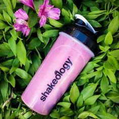 This very berry Shake tastes as good as it looks. Promise. • Strawberry Shakeology • Almond Milk • Raspberries • Blackberries • Banana  • Ice to taste