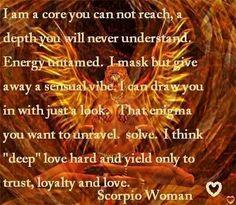Love Scorpio Women