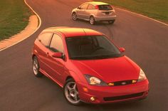 The 12 Most Unlikely Performance Cars - Automobile Magazine Ford Focus 2002, Ford Focus Svt, Ford Svt, Eco Friendly Cars, Lifted Ford Trucks, Mustang Cars, Performance Cars, Bugatti Veyron, Ferrari 458