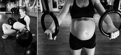 cross-fit, pregnant, zwanger, sport, crossfot, rings, sporty, healthy, photoshoot, idea,