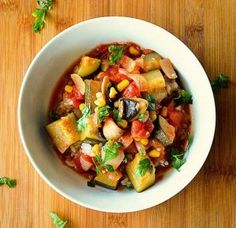 Garden Vegetable Stew {Vegan}