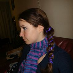Ribbon side braid