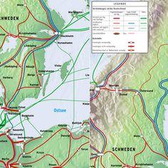 Schweden: Mit Zug und Fähre auf die Skandinavische Halbinsel Map, Sweden, Scandinavian, Island, Location Map, Maps
