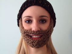 Crochet Beard Hat: Free Pattern