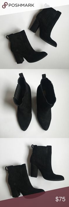 Dolce Vita Conway Chelsea Ankle Bootie in Black No trades! Excellent condition like new. Size 8.5 Dolce Vita Shoes Ankle Boots & Booties