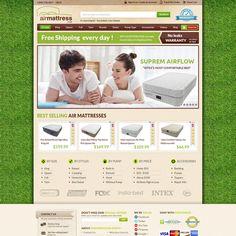 AirMattress.com needs a new website design