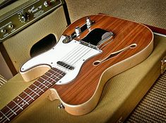 Thinline Telecaster Homemade by Peter Mulkers