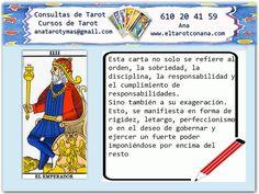 Aprende gratis Tarot: NOTAS DEL EMPERADOR