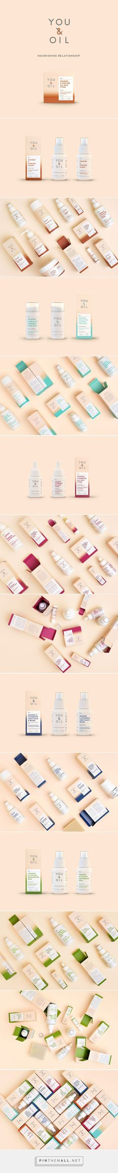 YOU & OIL Natural Cosmetics on Packaging of the World - Creative Package Design Gallery. - a grouped images picture - Pin Them All Skincare Packaging, Beauty Packaging, Cosmetic Packaging, Brand Packaging, Packaging Design, Branding Design, Branding Agency, Design Agency, The Body Shop