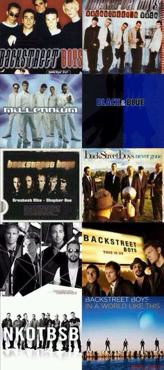 21 years together, 10 albums, 130 million plus records sold, sold out tours, best selling Boy Band of all time. The talented Backstreet Boys.. Nick Carter, Howie Dorough, Brian Littrell, AJ McLean and Kevin Richardson. ---I have all of them. I regret nothing!