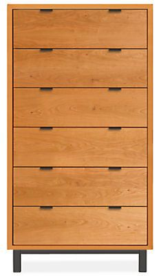The Copenhagen wood dresser is a modern, stylish and functional storage solution for any bedroom. Six Drawer Dresser, Wood Dresser, Modern Dresser, Modern Bedroom Furniture, Furniture Design, Storage Bench With Cushion, Plywood Siding, Kids Dressers, Bookcase Wall