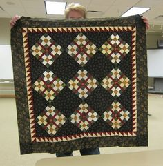 Sue H. has this one ready to quilt for the Holidays!