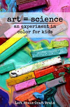 Combine art and science in this Five Minute Craft that teaches kids about paint solubility.