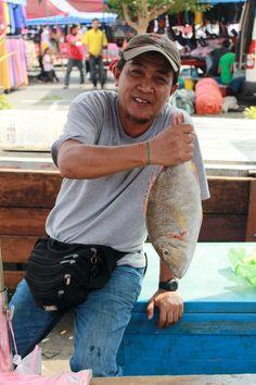 fish on fish at the Sunday morning market in... | NE x NW