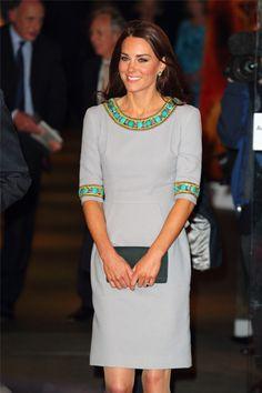 Catherine The Duchess of Cambridge in Matthew Williamson