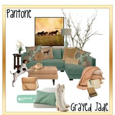"""""""Grayed Jade"""" love this color!"""
