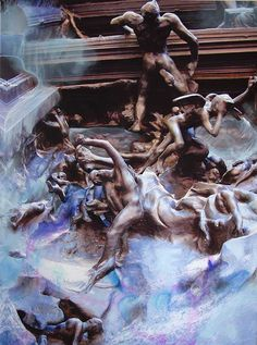 Les portes de l'enfer - Rodin (130cm x 97cm) - 2009