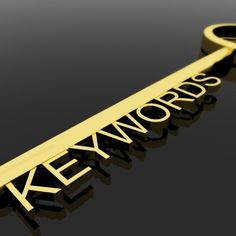 Online Writing Tips: Use Keywords Wisely
