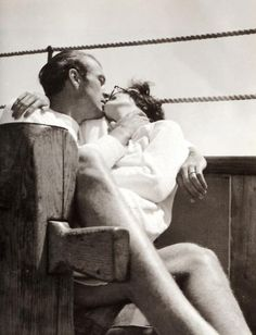Gary Cooper and his wife Rocky, 1934
