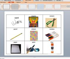 No boardmaker, no problem! Seriously awesome blog post! And this is smartboard friendly!