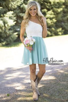 It's a Classic Vintage Bridesmaid in Sage - Bridesmaids. Not sure if the color is right for the wedding colors.