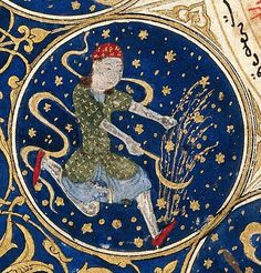 Virgo in the horoscope of Timurid Prince Iskandar - Islamic art, Islamic astrology Virgo Art, Zodiac Signs Virgo, Virgo Horoscope, Sagittarius, Wellcome Collection, Islamic Paintings, Islamic Art, Occult, Traditional Art