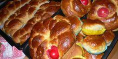 Συνταγή για τσουρέκια   SheBlogs.eu How To Make Bread, Bread Making, Greek Easter, About Easter, Easter Recipes, Sausage, French Toast, Lime, Breakfast