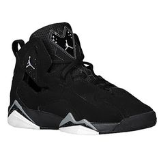 f1b38e64145 The Jordan True Flight is a lightweight and responsive game shoe, inspired  by the play of the game's premier players. The leather and Durabuck upper  with ...