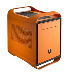 BitFenix Prodigy No Power Supply Mini-itx Tower Case - Green Drive Bay, Mini Itx, Computer Case, All In One, Modern Design, Usb, Orange, Tower, Cases