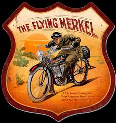 Click to find out more about The Flying Merkel Shield Sign