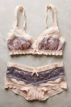 Being Bohemian: Lingerie