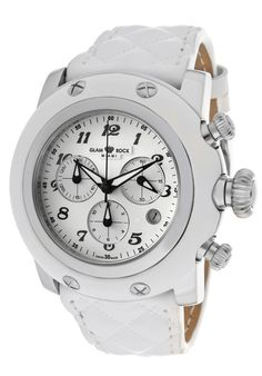 Price:$426.43 #watches Glam Rock GR11112-NV, Be the center of attention with beautiful watches by Glamin. Rock Watch, Beautiful Watches, Glam Rock, Chronograph, Miami, Leather, Accessories, Jewelry Accessories
