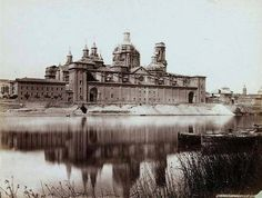 Saragossa Cathedral (Photograph) by Francis Frith & Co. Photograph of Saragossa Cathedral by Frith & Co. Taj Mahal, Cathedral, The Past, Louvre, Explore, Building, Travel, Plaza, Russia
