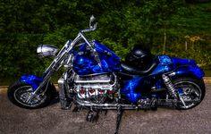 Boss Hoss V8 Chopper.