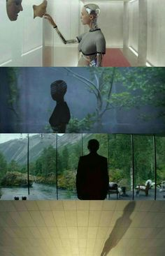 Ex Machina Director: Alex Garland. Director of Photography: Rob Hardy Movies Showing, Movies And Tv Shows, Ex Machina Movie, Film Grab, Film Inspiration, Great Films, Film Aesthetic, Photo Projects, Film Stills
