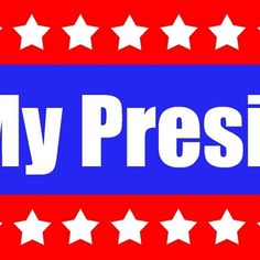 Not My President Protest Products (stars)