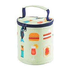 Lunch Box Handbag Food Printing Portable Insulated Thermal Cooler Lunch Tote Storage Bag Picnic Food Container Sac A Main #7623