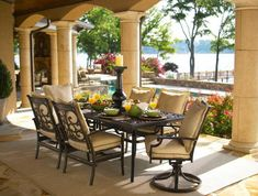 44 Inexpensive Outdoor Dining Furniture and Decor Ideas