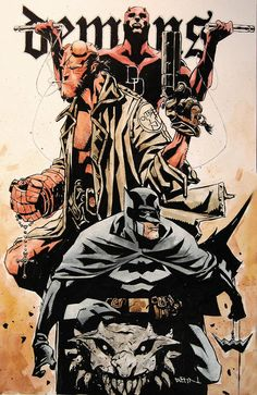 [Daredevil, Hellboy, Batman] by duss005.deviantart.com on @deviantART