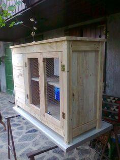 DIY Reclaimed Pallet Kitchen Island | 101 Pallets
