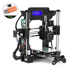TRONXY TRONXY XY-100 Portable Desktop 3D Printer Kit DIY Self Assembly High Precision i3 Acrylic Frame with 8GB Memory Card Support ABS/PLA/TPU/Wood Filament for Beginners