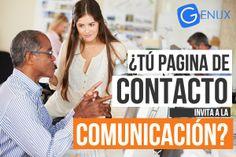 ¿Tu página de contacto, invita a la comunicación?