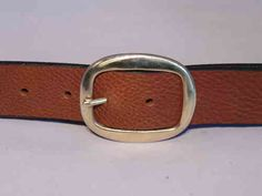 Brass Oval 1 1/2 Inch #Leather #Belt designed by Buckle my Belt your online marketplace for #handmade to #measure leather #belts. All belts are manufactured in the UK with #full #grain #quality #Italian leather. Sold #brass #buckle finishes this stylish ladies leather belt.