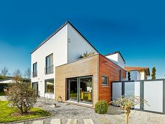 Super modern und echt schön. Pultdächer liegen voll im Trend! Foto: Luxhaus
