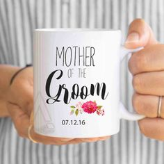 wedding gifts, mother of the groom gift, wedding gifts for parents, mother of bride gifts, gifts from bride, unique gifts, coffee mugs MU249 by artRuss on Etsy