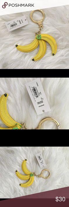 Kate Spade Banana Keyfob NWT kate spade Accessories