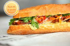 Sandwich Banh Mi vietnamien