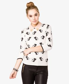 cat sweater - duh, of course I need.
