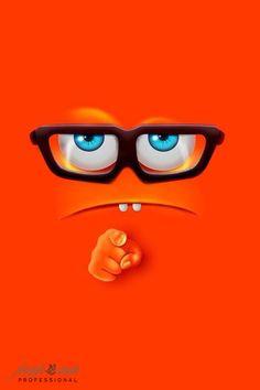 This is emoji whatsapp Wallpaper for your status. Crazy Wallpaper, Funny Iphone Wallpaper, Apple Wallpaper Iphone, Emoji Wallpaper, Cellphone Wallpaper, Disney Wallpaper, Mobile Wallpaper, Iphone Wallpapers, Hd Desktop